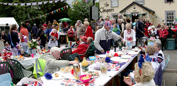 Diamond Jubilee street party, Orwell