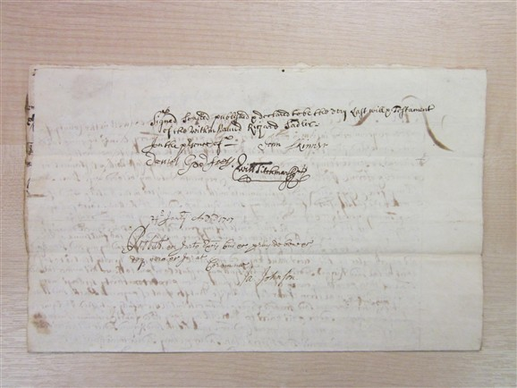 Photo: Illustrative image for the 'Will of Richard Sadler, 1707' page