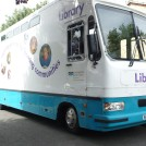 Photo:Cambridgeshire Mobile Library comes twice a month.