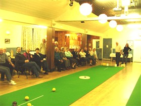 Photo:The bowls club was started in 2004 and has proved very popular