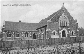 Photo:Chapel in 1920s