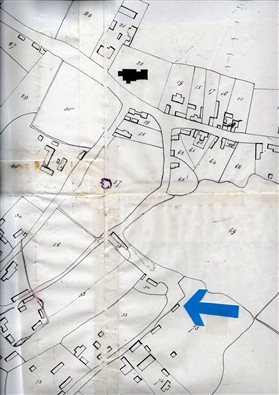 Photo:1836 pre- enclosure sketch map.