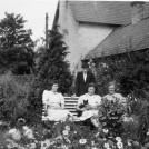 Photo:Family group in the garden