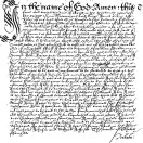 Page link: Will of Elizabeth Farchild 1615