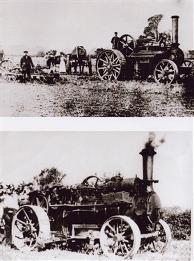 Photo:Flack steam ploughs