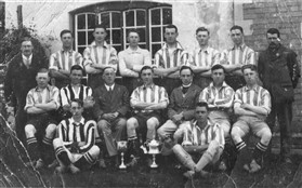 Photo:Orwell F.C 1928-29 Cyril Flack 2nd from the right back row