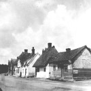Photo:From the right, theWite Hart (Royston Ales,) the cobblers workshop, and then a cottage which has now gone.