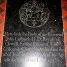 Photo:Gravestone of Revd.John Colbatch