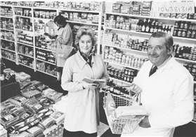 Photo:Mr and Mrs Blake bought Millers Stores in the 1980s