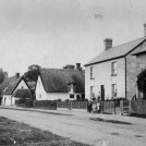 Photo:Toot Cottage (centre) and No. 35 High Street.