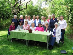 Photo:W.I. Picnic in Chapel Orchard with members from Wanstead W.I. 2011