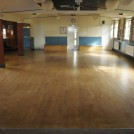 Photo:A good floor for dancing and carpet bowls