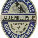Photo:Royston Brewery beer bottle label