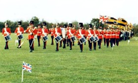 Photo:Band of the Queen's Division from Bassingbourn Barracks