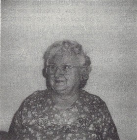 Photo:Barbara Brown nee Bagstaff