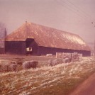 Photo:West Farm Barns.  1960s