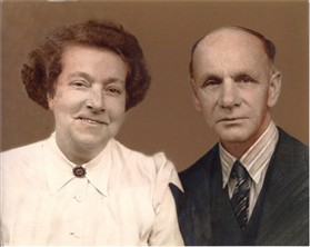 Photo:(Albert) Stanley Wilkins and his Wife Winifred
