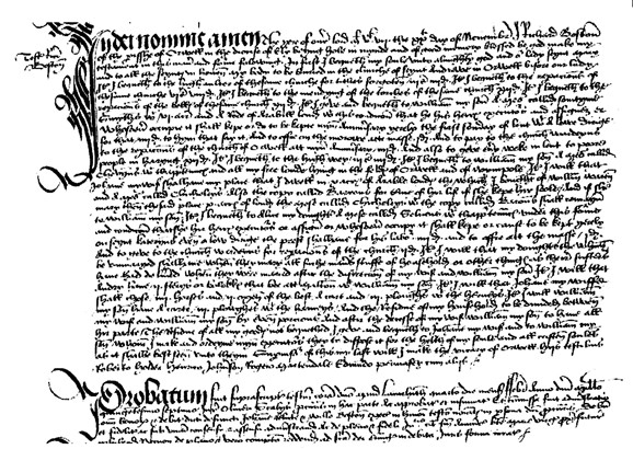Photo: Illustrative image for the 'Will of Richard Boston 1508' page
