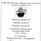 Page link: ORWELL VILLAGE LUNCHES