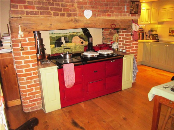 Photo:. . . which takes an Aga nicely.