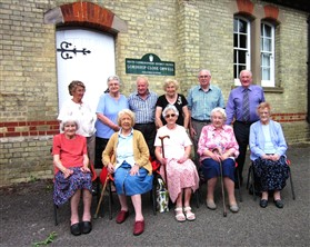 Photo:Pupils from the 1930s reunited on July 22nd 2015