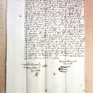 Page link: Will of Robert Barnard 1615